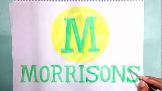 How to draw the Morrisons logo