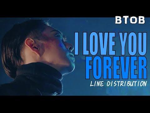 BTOB - I LOVE YOU FOREVER Line Distribution