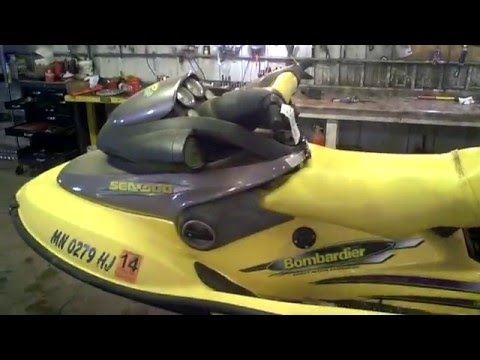 LOT 2331A 1998 Sea Doo XP Limited Running - Tear Down for Parts
