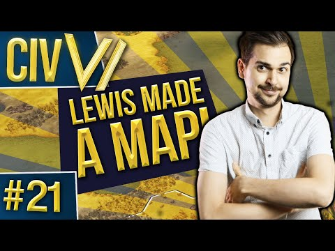 Civ VI: LEWIS MADE A MAP #21 - The Real Battle