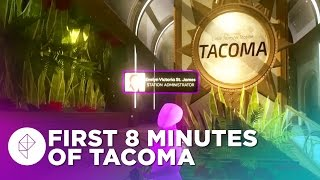 First 8 Minutes of TACOMA Gameplay – Gone Home