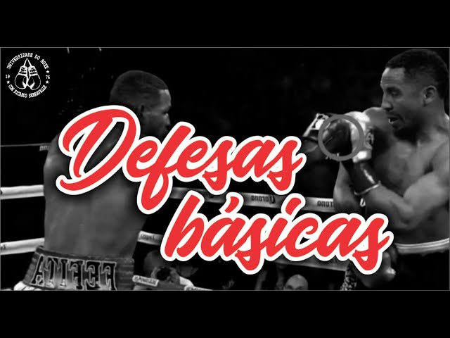 Defesas básicas do Boxe