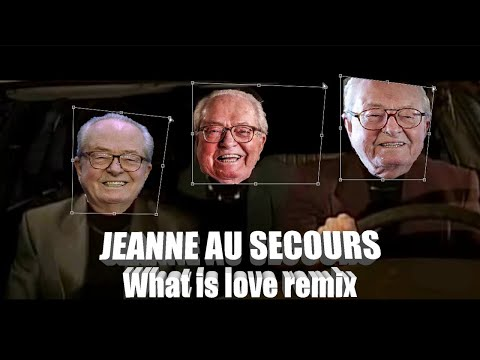 JEAN-MADDAWAY - JEANNE AU SECOURS - WHAT IS LOVE REMIX
