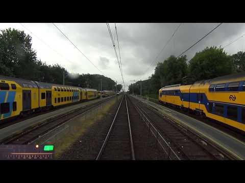 A train driver's view: Enkhuizen - Amsterdam CS, DDM, 25-Jun-2017.