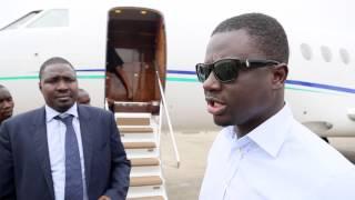 Leaving Sierra Leone heading to Gabon #AkonLightingAfrica
