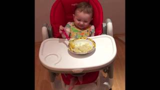 Отзыв о стульчике для кормления малышей Peg-Perego(Видеоотзыв от Василисы о стульчике для кормления малышей Peg-Perego, 2016-02-29T10:43:43.000Z)