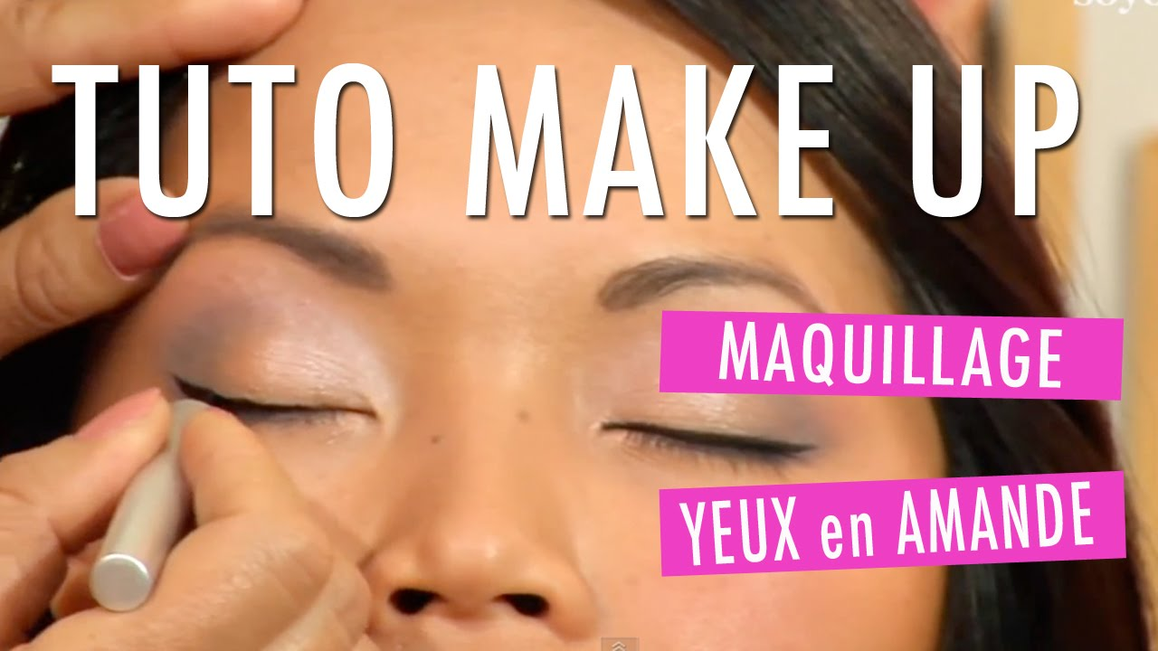 Top Comment maquiller des yeux en amande ? - Tuto Make Up - YouTube GJ98