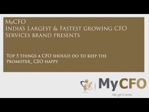 Top 5 things a CFO should do to keep the Promoter CEO happy