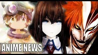 WAT? NEW BLEACH? MAS STEINS;GATE? MADE IN ABYSS 2 ?? / ANIME NEWS