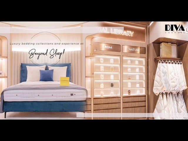 參觀新登場「睡夢博物館」主題睡眠用品店Beyond Sleep!Pillow Bar、「高訂」床墊,享受不一樣選購寢具體驗!