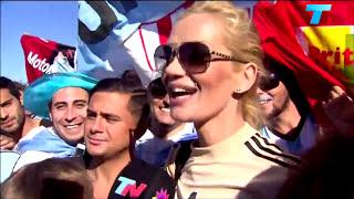 """Eliana Guercio """"Si salimos campeones se lo presto una semana a RIHANNA"""" - TN HD (Argentina)2014"""