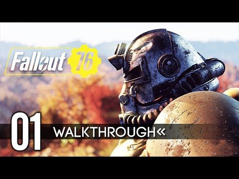 FALLOUT 76 Gameplay Walkthrough PART 1 (No Commentary) 1080p HD