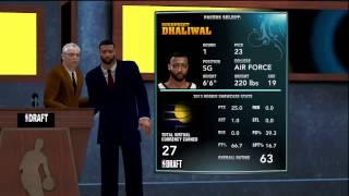 NBA 2K14 Draft Pick
