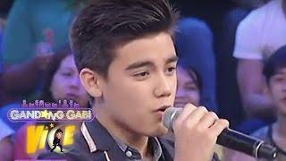 """GGV: Bailey sings """"Nasa Iyo Na Ang Lahat"""""""