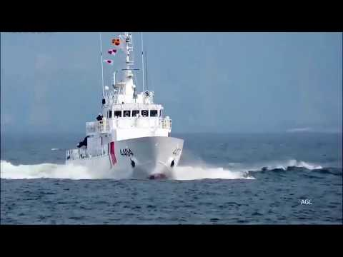 Philippine Coast Guard received 6 new vessel Parola-class Multi-role Response Vessels from japan
