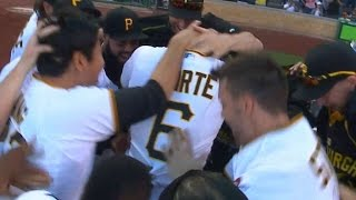 8/22/15: Pirates walk off on Marte