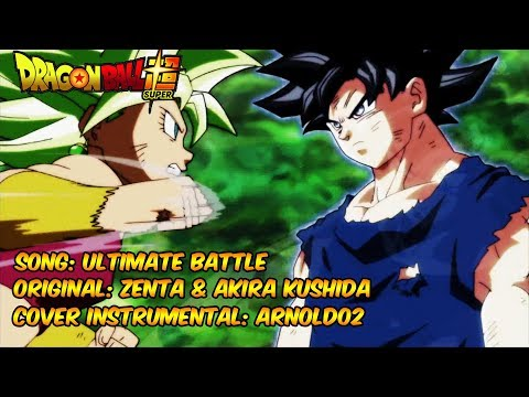 DRAGON BALL SUPER - Goku vs Kefla - Ultimate Battle (Zenta & Akira Kushida) - Cover por Arnold02