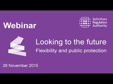 Looking to the future: Flexibility and public protection
