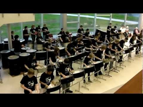 """Here Comes The Sun"" by Dover Steel Drum Band"