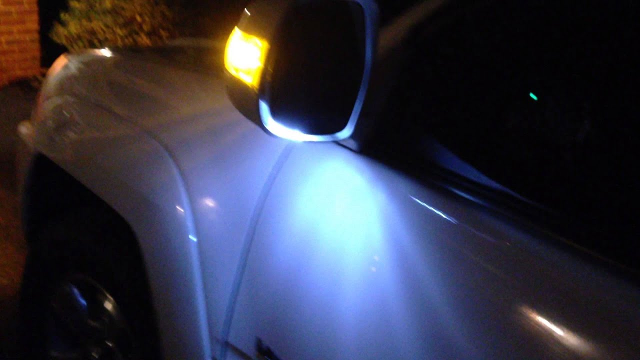 4runner Led Turn And Puddle Light Youtube