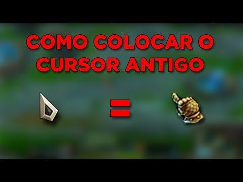 LOL - COMO COLOCAR O CURSOR DO MOUSE ANTIGO (Cursor Legado)
