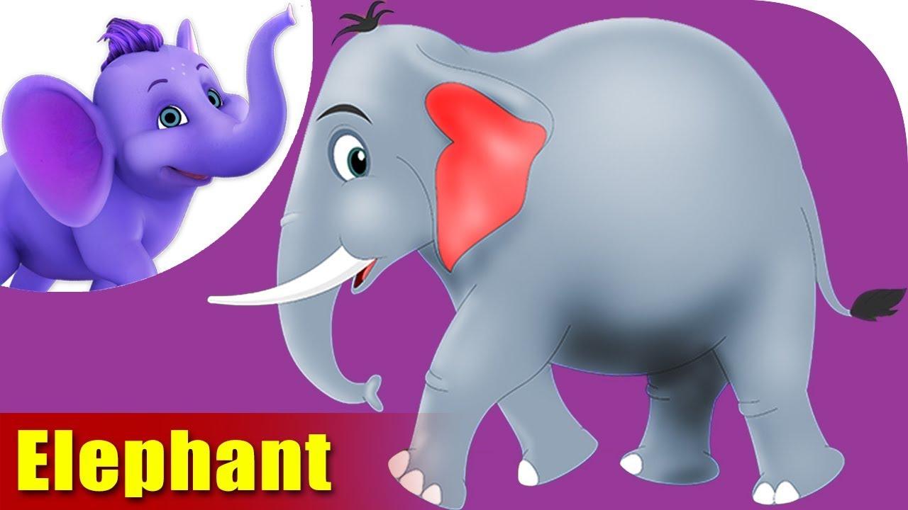 Hatti (Elephant) - Animal Rhymes in Marathi