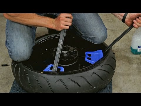 How To Change Balance Your Own Motorcycle Tires Mc Garage Youtube