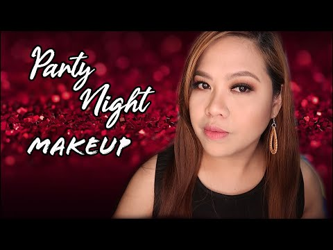 SIMPLE SMOKEY EYE MAKEUP FOR PARTY NIGHT