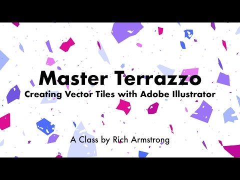 Master Terrazzo: Creating Vector Tiles with Adobe Illustrator