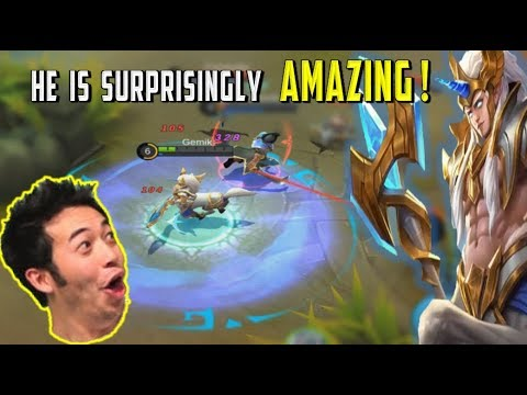 NEW HERO HYLOS FULL PRO REVIEW – BUILD & GAMEPLAY – Mobile Legends