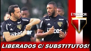 MAIS NOTICIAS DO SÃO PAULO FC! DEPOIS DE BIRO BIRO O TRICOLOR LIBERA MAIS 3 JOGADORES É UMA BOA?