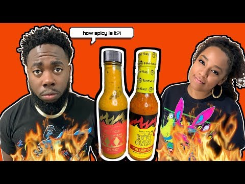 How hot is it? We tried Hot Ones Last Dab XXX 🔥 We Should've got Ice Cream!