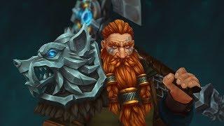 Iron Wolf - Handpainted fantasy character