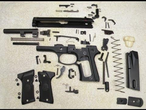 Beretta 92FSC  Desarme Completo