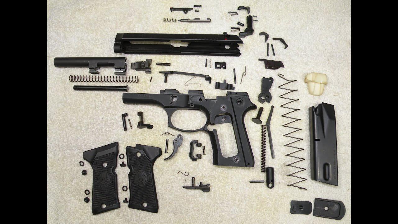 Resultado de imagen para pistola desarmada