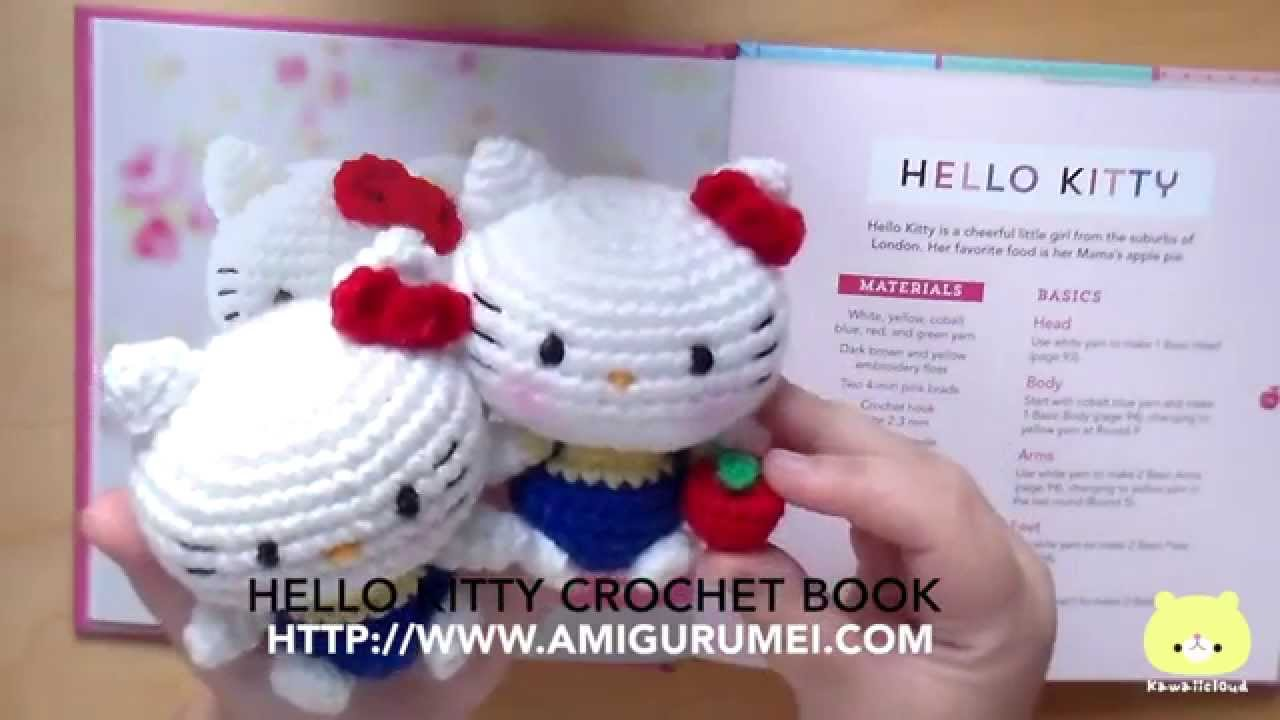 1 Review Libro Hello Kitty Crochet Youtube