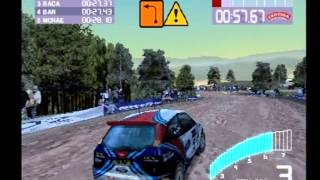 Colin McRae Rally 2.0 PS1 Gameplay (Greece/1)