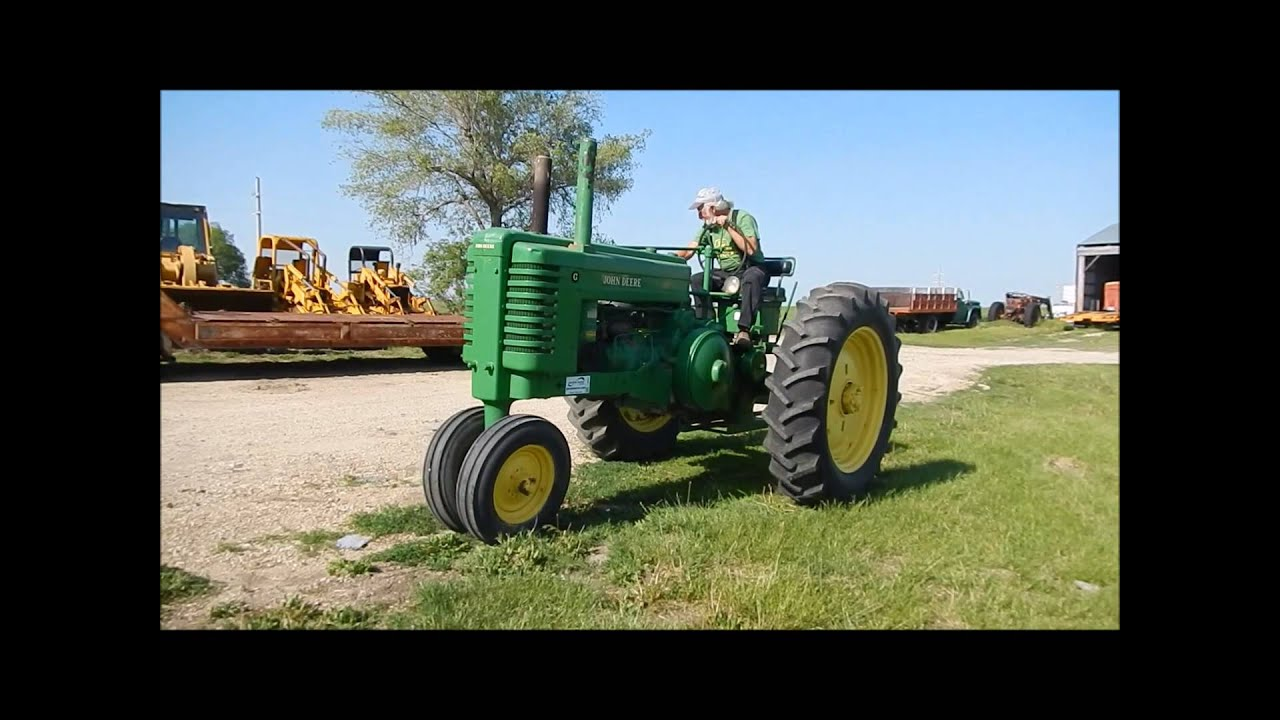 john deere g tractor for sale mri machine diagram 1947 sold at auction may