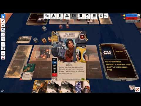 Star Wars Destiny - EaW Thieving Sabine 2