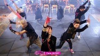 Repeat youtube video NU'EST - Face, 뉴이스트 - 페이스, Music Core 20120317