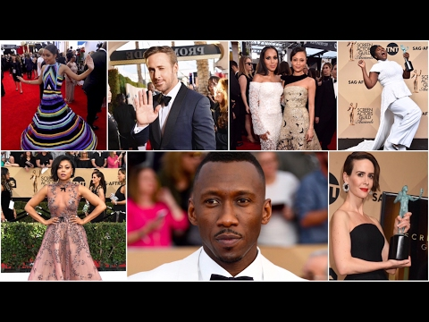 Full Coverage of 2017 Screen Actors Guild Awards by BLACKTREE TV