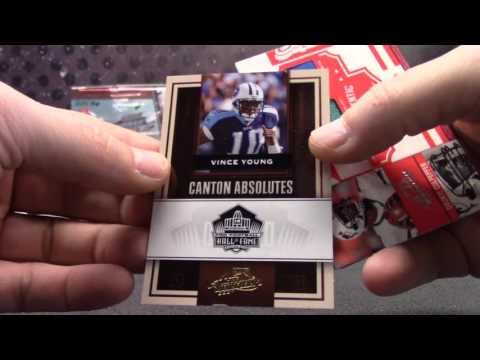 2008 Limited & 2007 Absolute NFL 6 Box Serial s GB