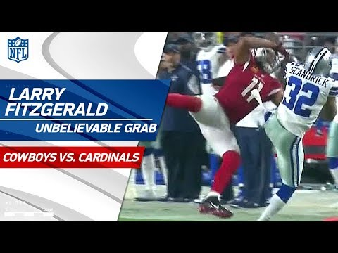 Larry Fitzgerald Rips It Away from Scandrick for an Amazing Catch | Cowboys vs. Cardinals | NFL Wk 3