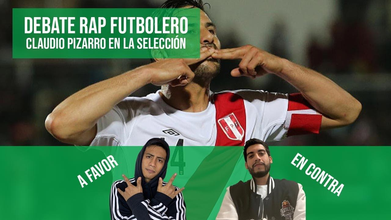 DEBATE RAP FUTBOLERO ETC   Claudio Pizarro en la selección