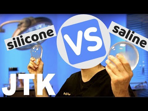 SILICONE vs SALINE Implants