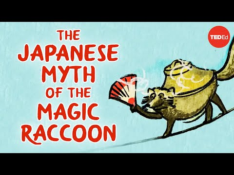 Video image: The Japanese myth of the trickster raccoon - Iseult Gillespie