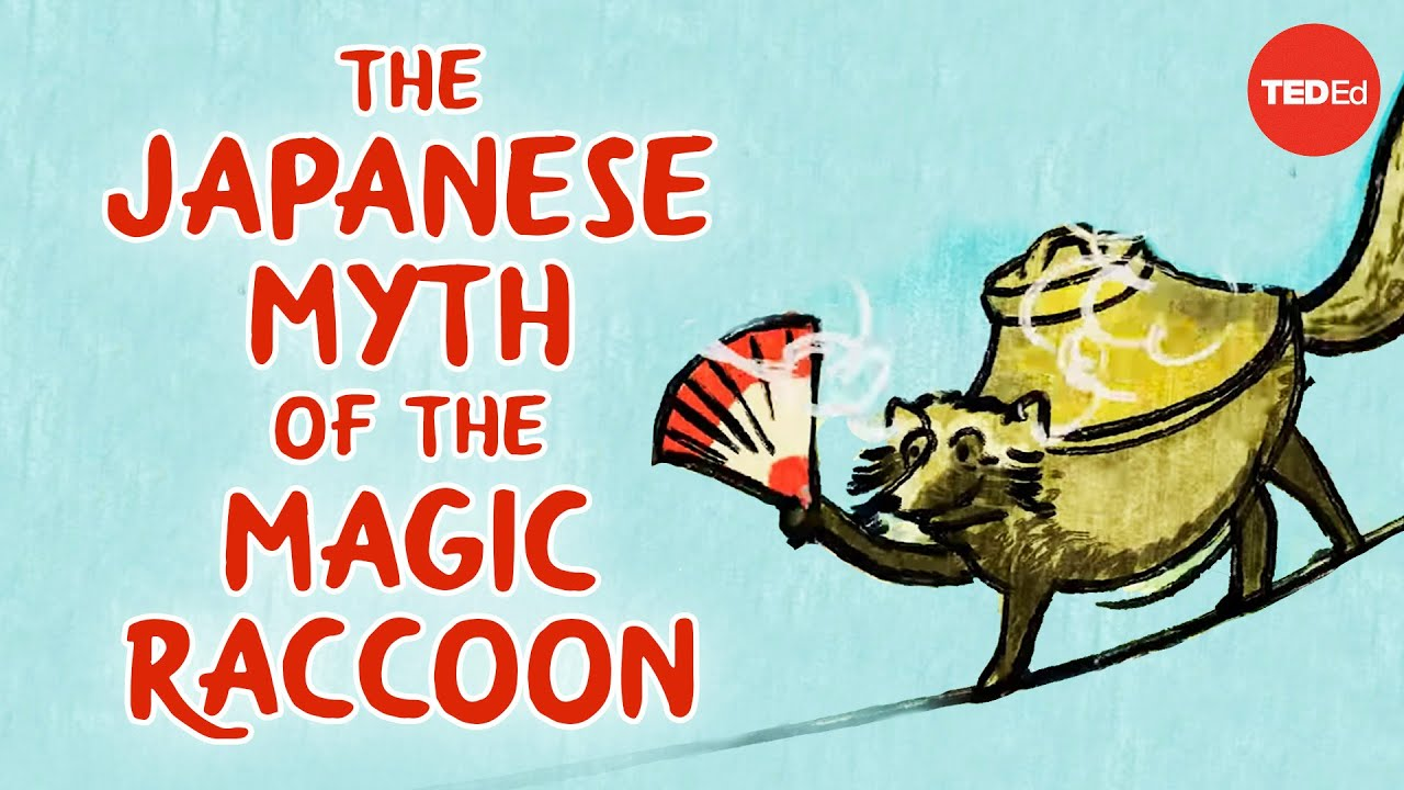 The Japanese myth of the trickster raccoon - Iseult Gillespie