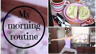 Moje ranní rutina / My morning rou...