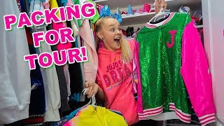 PACKING FOR TOUR! - JoJo Siwa