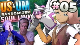 THIS TEAM IS INSANE! (Pokemon USUM Randomizer Soul Link • #05 • w/ FeintAttacks)